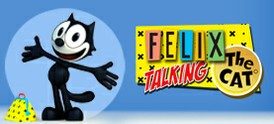 Talking Felix the cat